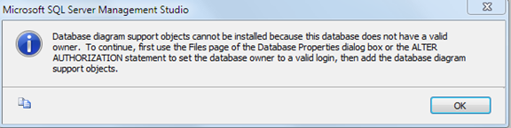 Database diagram support objects cannot be installed from cobol to database diagram support objects cannot be installed ccuart Images