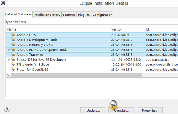 Activity not created in Eclipse | From COBOL to SharePoint